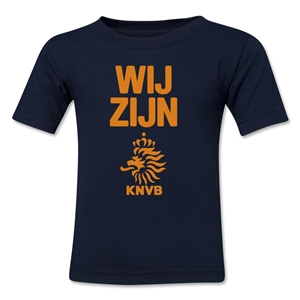 Netherlands We Are Kids T-Shirt (Navy)