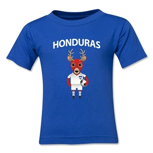 Honduras Animal Mascot Kids T-Shirt (Royal)