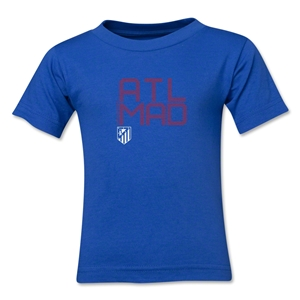 Atletico Madird ATL MAD Toddler T-Shirt (Royal)