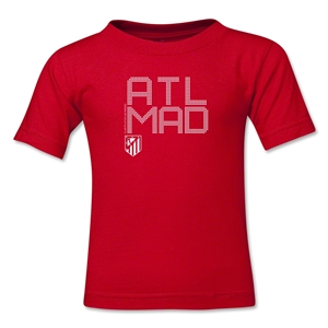 Atletico Madrid ATL MAD Toddler T-Shirt (Red)