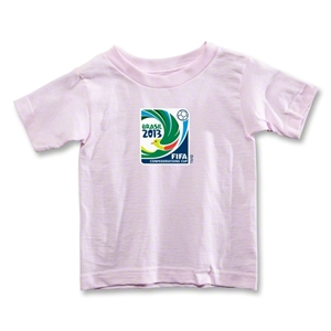 FIFA Confederations Cup 2013 Toddler Event Emblem T-Shirt (Pink)