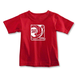FIFA Confederations Cup 2013 Toddler Emblem T-Shirt (Red)