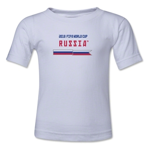 2018 FIFA World Cup Russia(TM) Toddler T-Shirt (White)