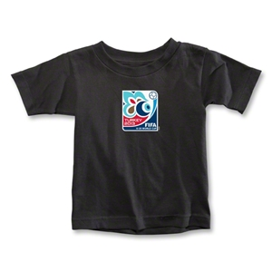 FIFA U-20 World Cup Turkey 2013 Toddler Emblem T-Shirt (Black)