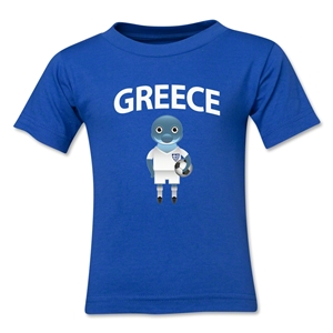 Greece Animal Mascot Toddler T-Shirt (Royal)