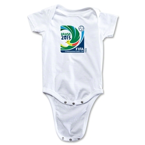 FIFA Confederations Cup 2013 Emblem Onesie (White)
