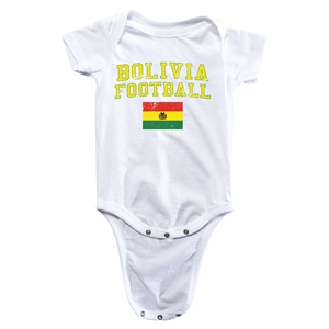 Bolivia Football Onesie (White)