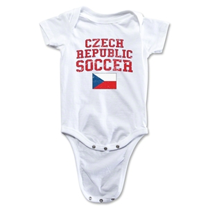 Czech Republic Soccer Onesie (White)