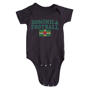 Dominica Football Onesie (White)