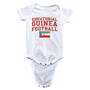 Equatorial Guinea Football Onesie (White)