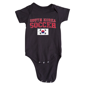 South Korea Soccer Onesie (Black)