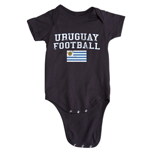 Uruguay Football Onesie (Black)