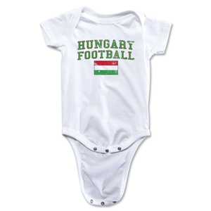 Hungary Football Onesie (White)