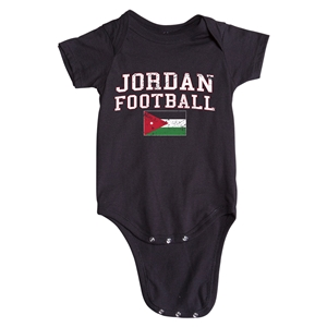 Jordan Football Onesie (Black)