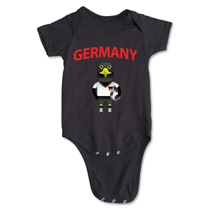 Germany Animal Mascot Onesie (Black)