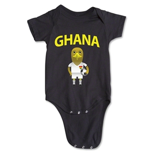 Ghana Animal Mascot Onesie (White)