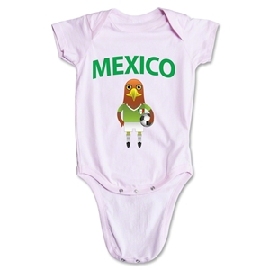 Mexico Animal Mascot Onesie (Pink)