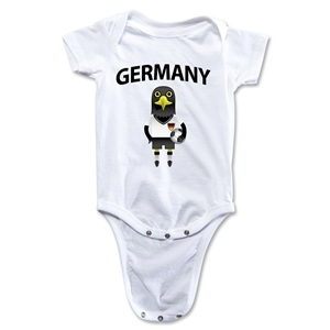 Germany Animal Mascot Onesie (White)