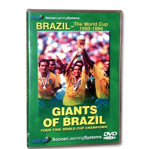 Giants of Brazil Soccer DVD