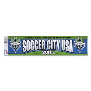 Seattle Sounders FC Bumper Sticker