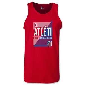 Atletico Madrid El Atleti Tank Top (Red)