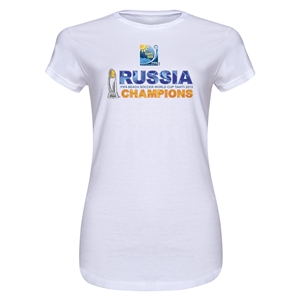 Russia FIFA Beach World Cup 2013 Winners Men's Tank Top (White)