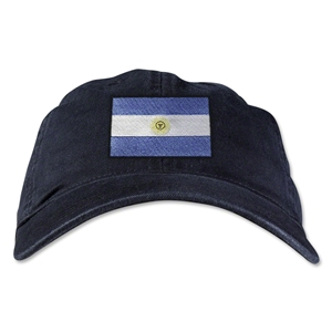 Argentina Unstructured Adjustable Cap (Black)
