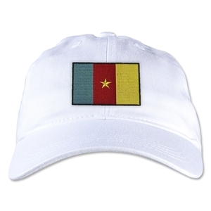 Cameroon Unstructured Adjustable Cap (White)