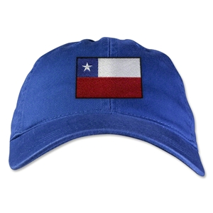 Chile Unstructured Adjustable Cap (Royal)