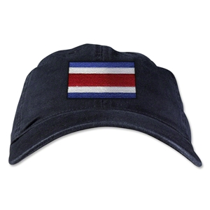 Costa Rica Unstructured Adjustable Cap (Black)