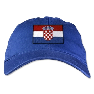 Croatia Unstructured Adjustable Cap (Royal)