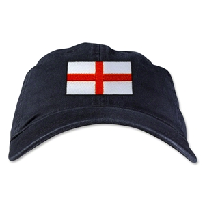 England Unstructured Adjustable Cap (Black)