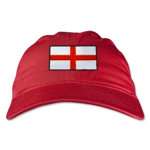 England Unstructured Adjustable Cap (Red)