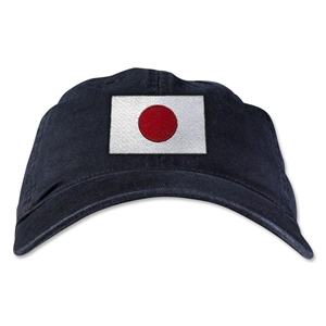 Japan Unstructured Adjustable Cap (Black)