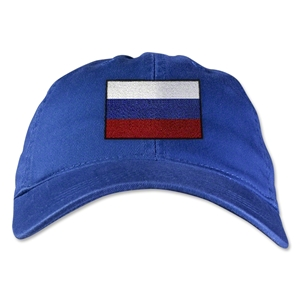 Russia Unstructured Adjustable Cap (Royal)