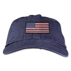 USA Unstructured Adjustable Cap (Navy)