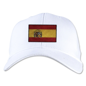 Spain Flexfit Cap (White)