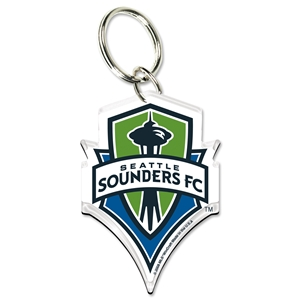 Seattle Sounders FC High Definition Key Ring