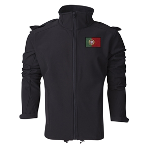 Portugal Performance Softshell Jacket (Black)