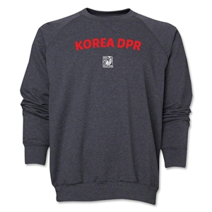 North Korea FIFA U-17 Women's World Cup Costa Rica 2014 Core Crewneck Fleece (Dark Grey)