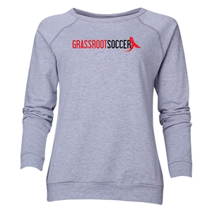 Grassroot Soccer Women's Crewneck Fleece (Gray)