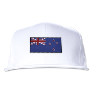 New Zealand Flatbill Cap (White)