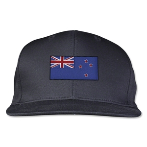 New Zealand Flatbill Cap (Black)
