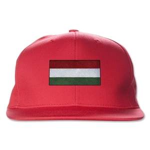 Hungary Flatbill Cap (Red)
