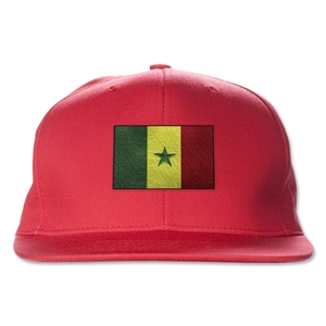 Senegal Flatbill Cap (Red)
