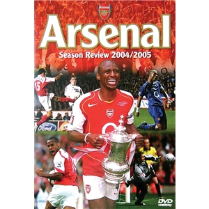 Arsenal Season Review '04/05 Soccer DVD