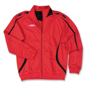 Umbro Fusion Soccer Jacket (Red/Blk)