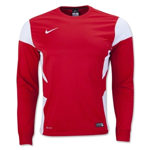 Nike Long Sleeve Academy 14 Midlayer T-Shirt (Sc/Wh)