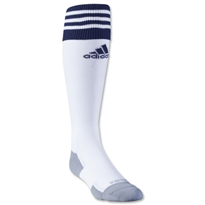 adidas Copa Zone Cushion II Sock (White/Navy)