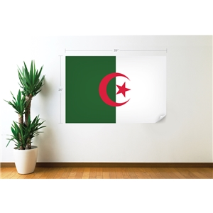 Algeria Flag Wall Decal
